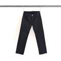 ANKLE LENGTH RIGID COATING BLK DENIM