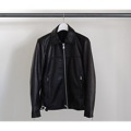 SHEEP NAKED LEATHER SINGLE RIDERS JKT