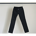 NO.55 SUPER SKINNY BLACK RIGID DENIM