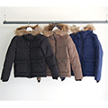 NYLON FUR DOWN JKT