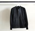 SHEEP LEATHER ZIP SHIRTS BLOUSON