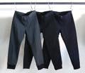 CTN/W OLD TWILL TAPARED RIB PANTS