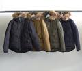 NYLON FUR MILITARY N3B DOWN JKT