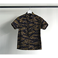 SULFUR TIGER CAMO MILITARY SHIRTS S/S