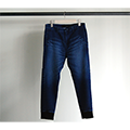SHAVING KNIT DENIM RIB PANTS