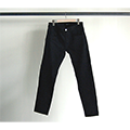 NO.30  STRETCH TAPERED RIGID BLACK DENIM