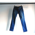 NO.41 STRETCH SKINNY SHAVING DENIM