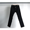 NO.41 STRETCH SKINNY RIGID BLACK DENIM