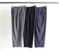 T/W TROPICAL 2TUCK WIDE CROPPED PANTS