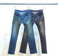 NO.51 SHAVING STRETCH STRIGHT DENIM