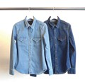 SHORT/C WESTERN DENIM SHIRTS