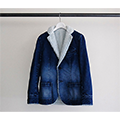 SHAVING DENIM LINING BOA TAILORED JKT