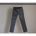 NO.55 SUPER SKINY GREY RIGID DENIM