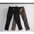 STRETCH TWILL TIGHT ANKLE CUT CARGO PANTS