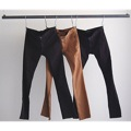WASHED STRETCH TIGHT CHINO PANTS