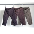 SULFUR STRETCH VELCRO CROPPED CARGO PANTS
