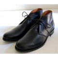PULL UP LEATHER CHUKKA BOOTS