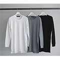 HIGH DENSITY WAFFLE LONG TEE L/S