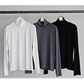 DUAL WARM TURTLE NECK L/S