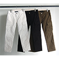 HIGH COUNT STRETCH ANKLE CUT CARGO PANTS