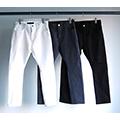 T/C STRETCH ANKLE CUT JODHPURS SLIM PANTS