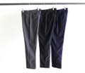 T/R TOP CLOTH TAPERED ANKLE NO-P PANTS