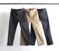 COMPACT CHINO STRETCH TAPERED NO-P PANTS