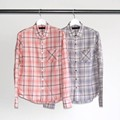 OMBRE CHK DRESS SHIRTS