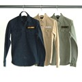 SULFUR MILITARY ROLL UP SHIRTS