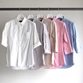 PALE TONE COLOR ROLL UP 3/4SL SHIRTS