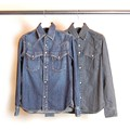 SHAVING WESTERN DENIM SHIRTS JKT