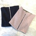 REVERSIBLE KNIT NECK WARMER