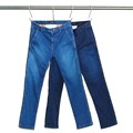 HIGH POWER STRETCH DENIM TAPERD PANTS