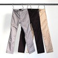 TAPERD SIDE ZIP PKT PANTS