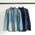 6OZ SHAVING DENIM SHIRTS