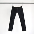 NO.61 STRETCH RIGID BLACK DENIM