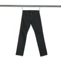 NO.27 STRAIGHT FIT RIGID BLACK DENIM