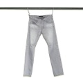 NO.27 STRAIGHT FIT SHAVING GREY DENIM