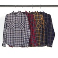 T/C OMBRE CHK PATCH & FLAP SHIRTS