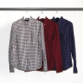 GINGHAM OXFORD SHORT B.D SHIRTS