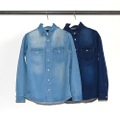 WEPON STRETCH DENIM SHIRTS