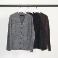 TOP WOOL BASIC CARDIGAN