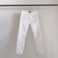 NO.27 STRAIGHT FIT WHITE KNIT DENIM