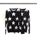 7G WOOL STAR JQD PULL OVER KNIT