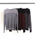 7G WOOL PANEL BOADER PULL OVER KNIT