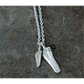 Magine×idealism sound FEATHER NECKLACE(M-1/S-1)