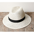 LONG BRIM HAT