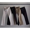 ANKLE LENGTH SERGE STRETCH 5PKT PANTS