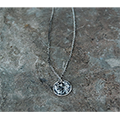 Magine×idealism sound SILVER COIN NECKLACE