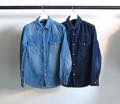 6.5oz CTN DENIM WESTERN SHIRTS